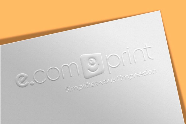 les finitions e.com'print - embossage papier