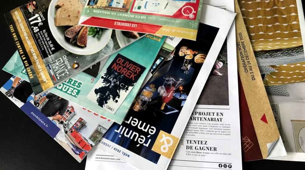 magazines brochure imprimées